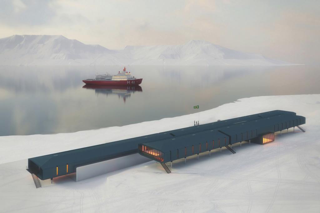 Nova base antartica brasileira